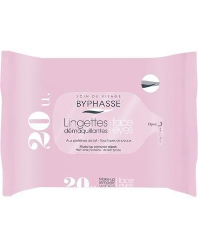 Byphasse Очищаючі серветки Make-up Remover Wipes Milk Proteins All Skin Types