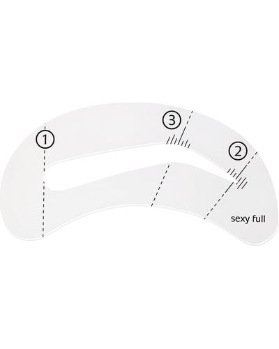 BeYu Eyebrow Stencil Set. Фото 2