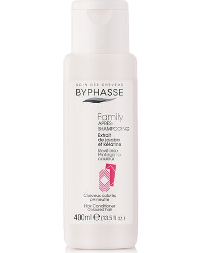 Byphasse Family Hair Conditioner Jojoba Extracts And Keratin