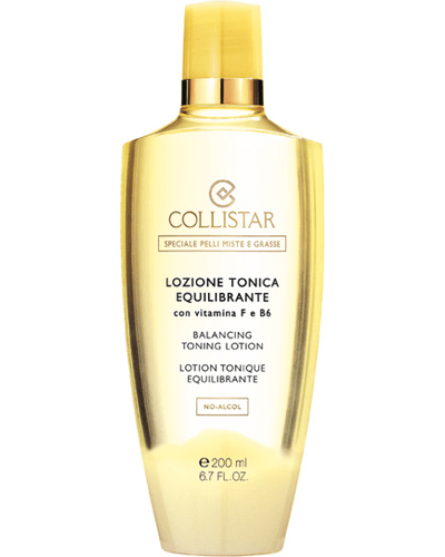 Collistar Balancing Toning Lotion no-alcohol with vitamins F e B6