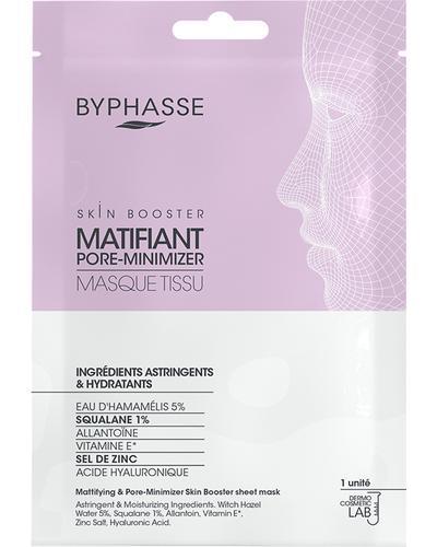 Byphasse Тканинна маска для матовості шкіри Mattifying & Pore-minimizer Skin Booster Sheet Mask
