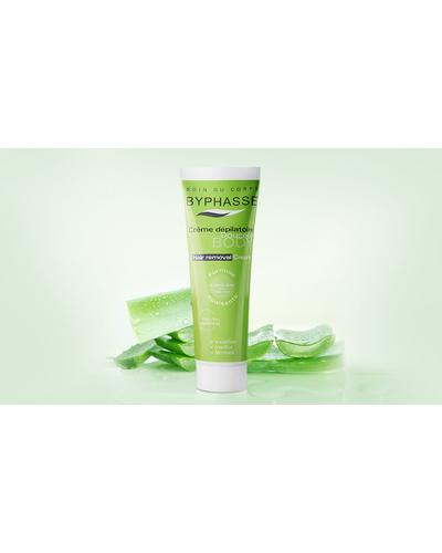 Byphasse Hair Removal Cream Aloe Vera. Фото 2