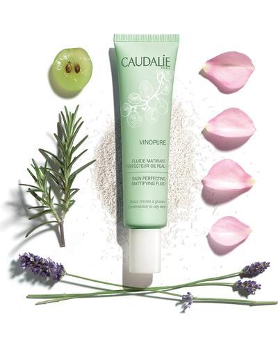 Caudalie Матирующий флюид, сужающий поры Vinopure Skin Perfecting Mattifying Fluid. Фото 1