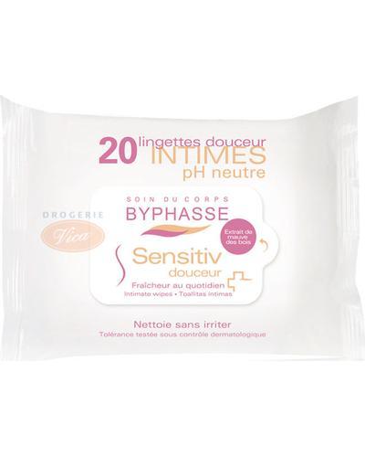 Byphasse Серветки для інтимної гігієни Sensitiv Douceur Intimate Wipes