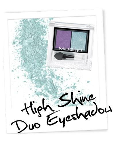 Misslyn High Shine Duo Eyeshadow. Фото 3