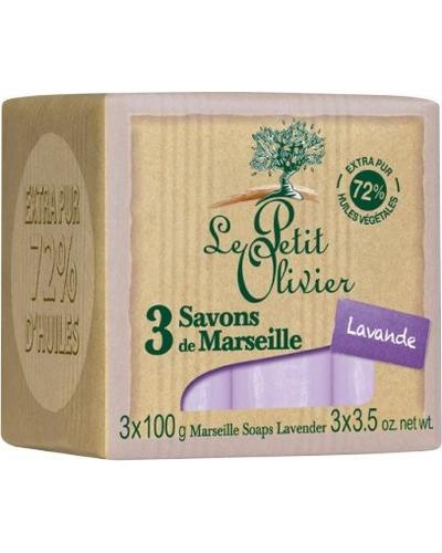 Le Petit Olivier 3 Savons de Marseille