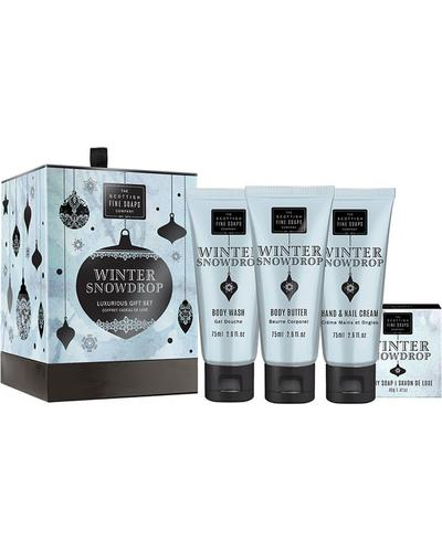 Scottish Fine Soaps Winter Snow Drop Luxurious Gift Set