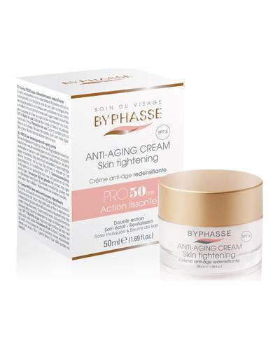 Byphasse Крем против старения 50+ Anti-aging Cream Pro50 Years Skin Tightening