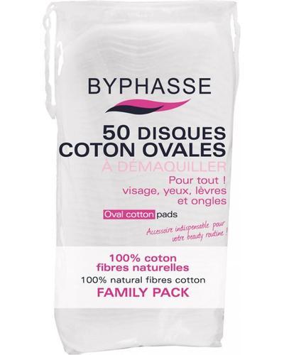 Byphasse Диски для зняття макіяжу овальні Oval Cotton Pads