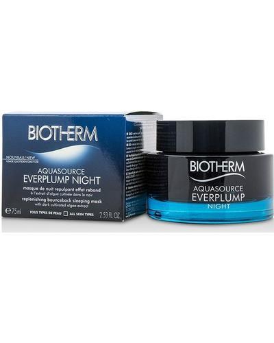 Biotherm Ночная маска для увлажнения и упругости кожи лица Aquasource Everplump Night. Фото 1