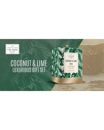 Scottish Fine Soaps Coconut & Lime Luxurious Set. Фото 1