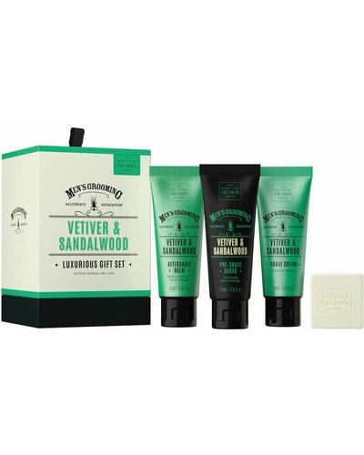 Scottish Fine Soaps Подарочный набор Vetiver & Sandalwood Luxurious Gift Set