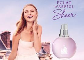 Нова версія улюбленого аромату -  Lanvin Eclat d'Arpege Sheer!