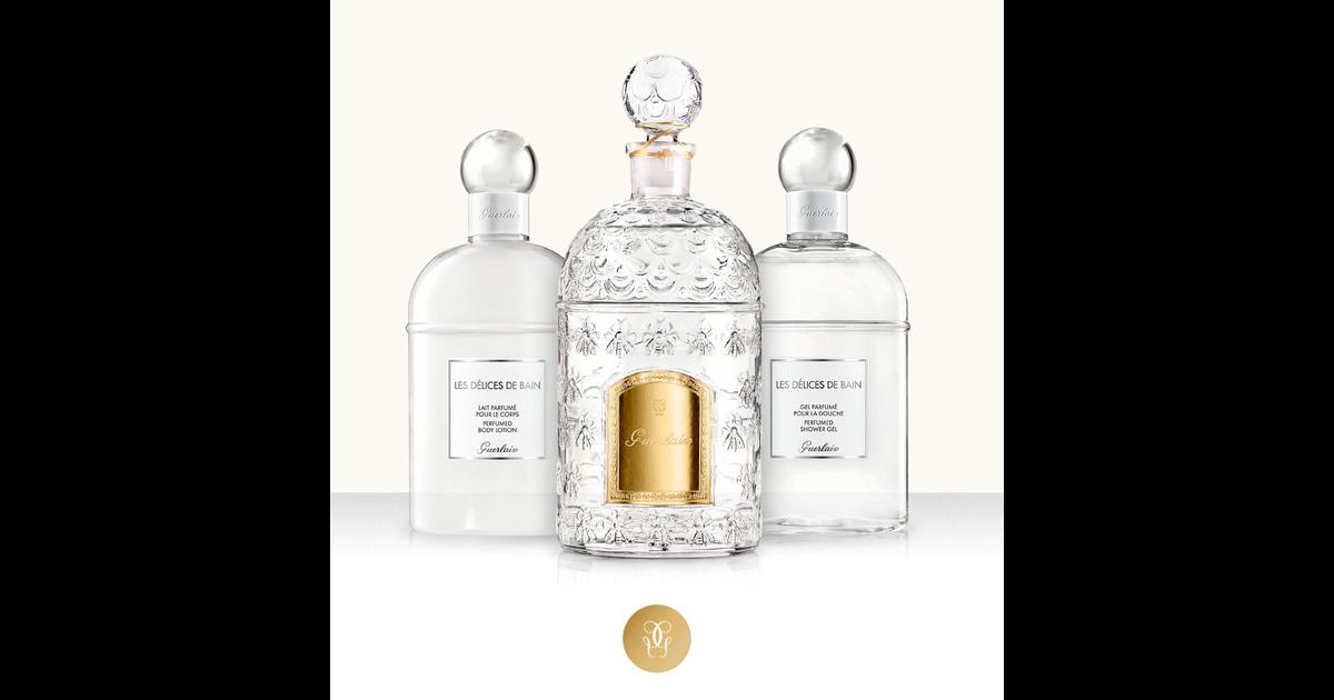 Perfumed Shower Gel Les Guerlain Душа Гель Bain Для Delices De qzGSULMVp